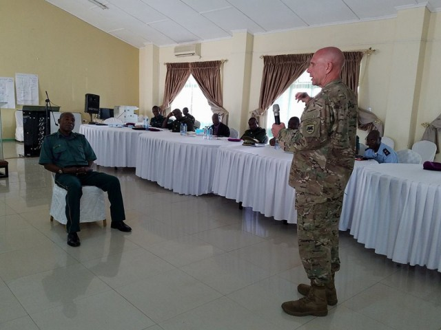 USARAF, Zambian chaplain conference