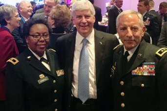 Virgin Island and Michigan National Guards begin partnership