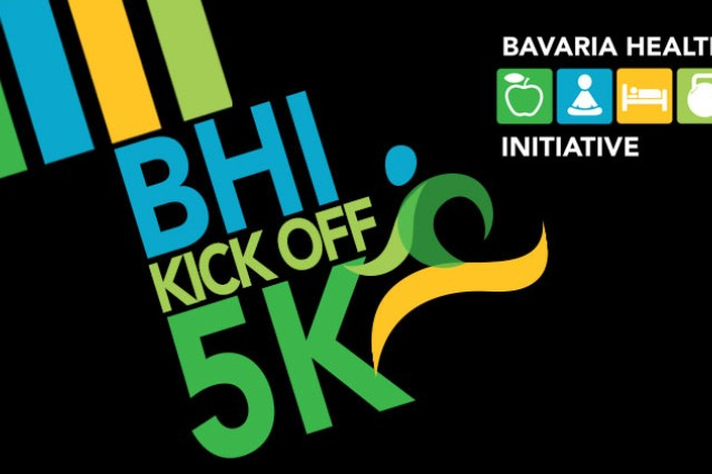 "The Bavaria Health Initiative (#BHI) is a holistic approach to combating the negative health and wellness trends. This program establishes an enduring operation that encourages healthy lifestyles, and promotes an ""I own my own Readiness"" attitude. BHI kicks off with a 5K run, open to all, March 23 at 3 p.m. at the Tower Barracks Physical Fitness Center."