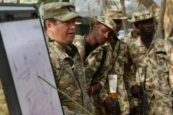 U.S. Army Trains Nigerian Infantry