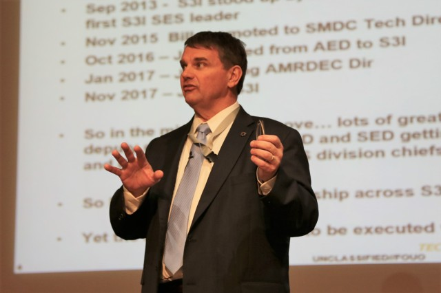 S3I's Director, Jeff Langhout, led the Systems Simulation and Software Integration Directorate Feb. 21.