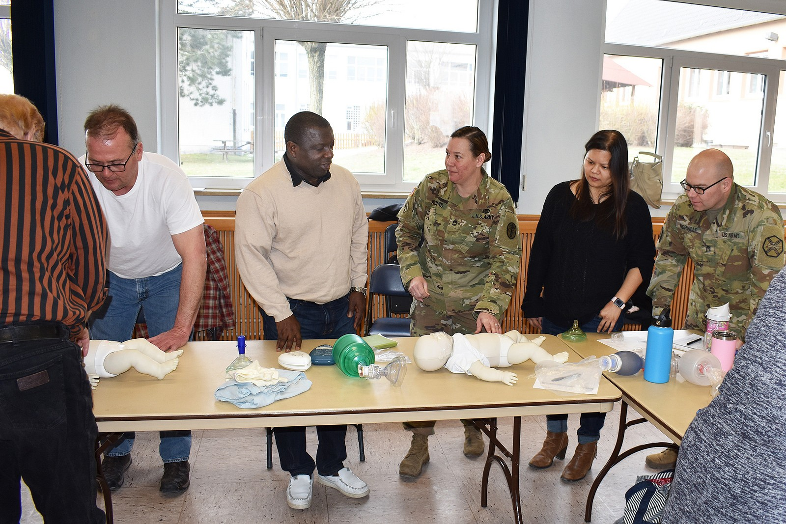 Usag Ansbach Safety Occupational Health Office And Aha Team Up To