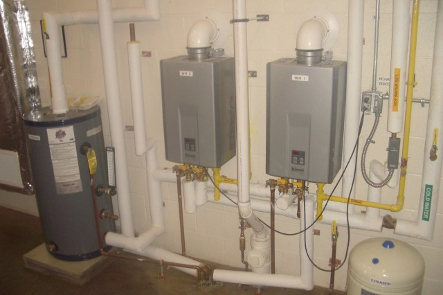 FMS#1 was designed to Energy 10 Standards to be as environmentally green as possible. Among its features are tankless water heaters, which contribute to energy savings. From a 2008-2009 baseline of $10,567 in utility costs, the shop cut expenditures to less than $2000 over the past two years.