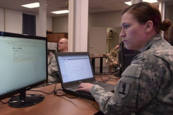 From historian to cyber expert: Soldier takes on a new career in cyber intelligence