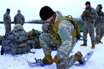 Wyoming infantry gets dose of winter warfare training