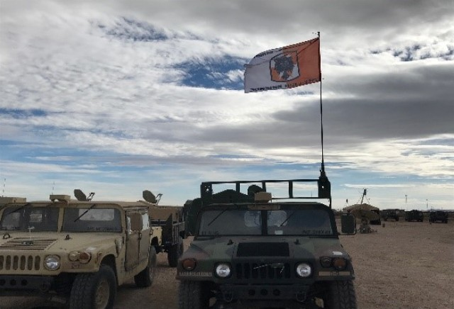 35th Theater Tactical Signal Brigade Soldiers deploy in support of Roving Sands