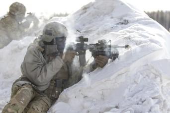 Alaska Army National Guard freezes hot 'threats' during Arctic Eagle exercise