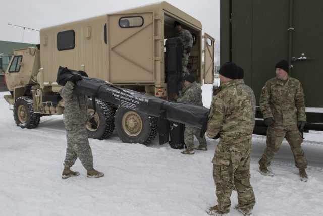 Colorado Special Forces Guardsmen aid Alaska Guard in Arctic Eagle 2018