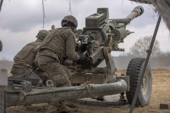 US Army, NATO test joint artillery system at Exercise Dynamic Front 18