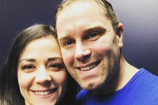 Lauren Noland and her husband Staff Sgt. Nickolas Noland.