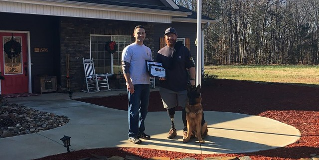 Man's best friend: How two USAG Bavaria Soldiers helped a wounded vet