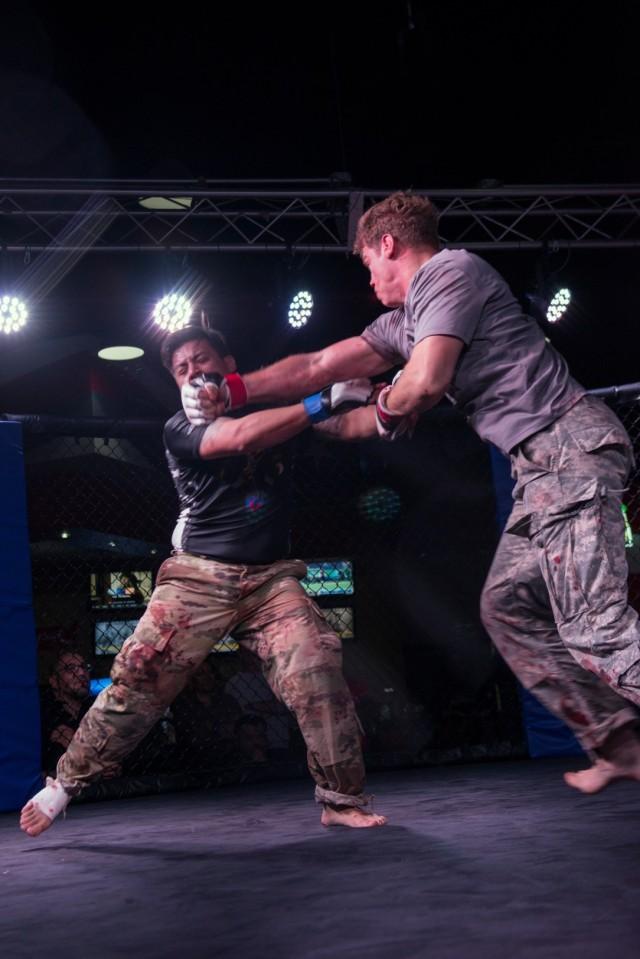 Fort Bragg Hosts Combatives Tournament