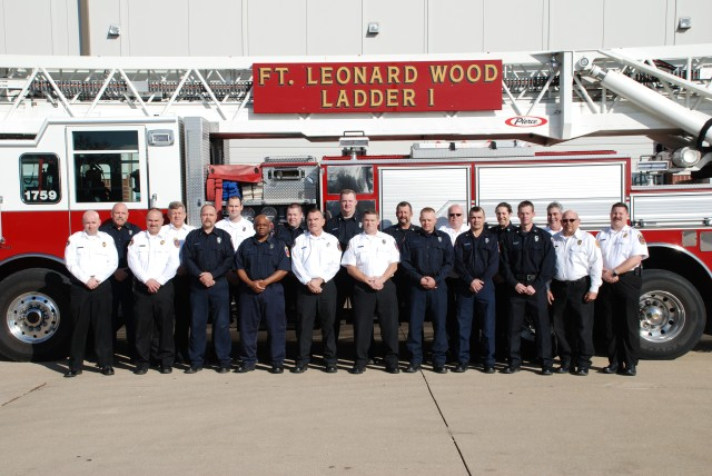 Fort Leonard Wood Fire Department wins big in IMCOM competition