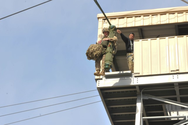 Panther Brigade Trains to Jump with Stinger Missiles