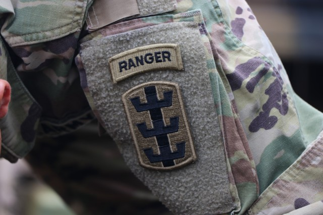 Cpl. Lie Wu, a wheeled vehicle mechanic assigned to the 84th Engineer Battalion Forward Support Company, 130th Engineer Brigade, 8th Theater Sustainment Command earned the coveted Ranger tab in January 2018. Ranger school is the Army's premier combat leadership and small unit tactics course, with only 36% of those who start the course obtaining the tab. Originally from Xi'an, China, Cpl. Wu is an alumni of Troy University in Montgomery Alabama and became a U.S. citizen as a Soldier in the U.S Army in 2015. (U.S. Army Photo by 1st Lt. Joseph B. Wyatt, 8th Theater Sustainment Command)