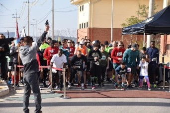 Camp Humphreys residents celebrate St. Patrick's Day with 5K run