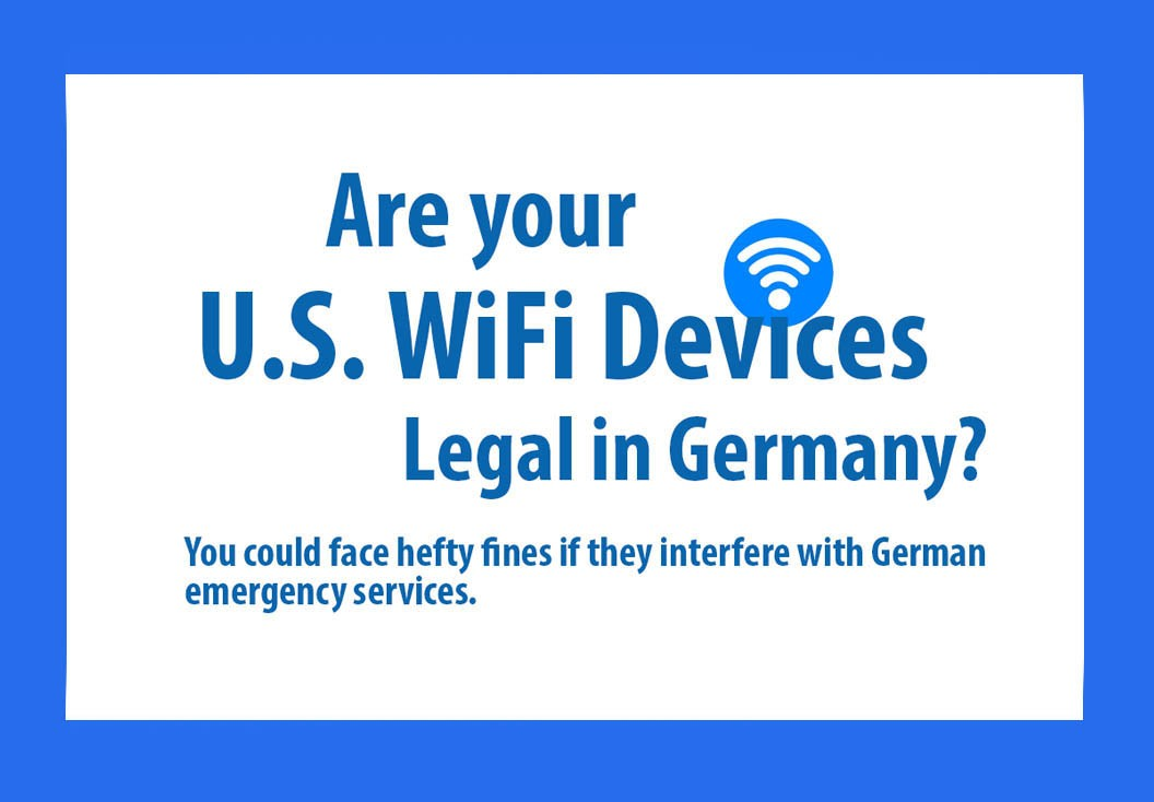 Many U S  wireless devices not allowed in Germany | Article