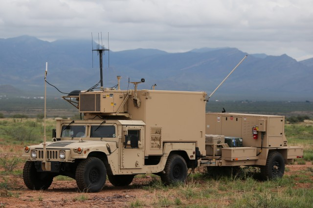 Tactical Ground Station in a training environment