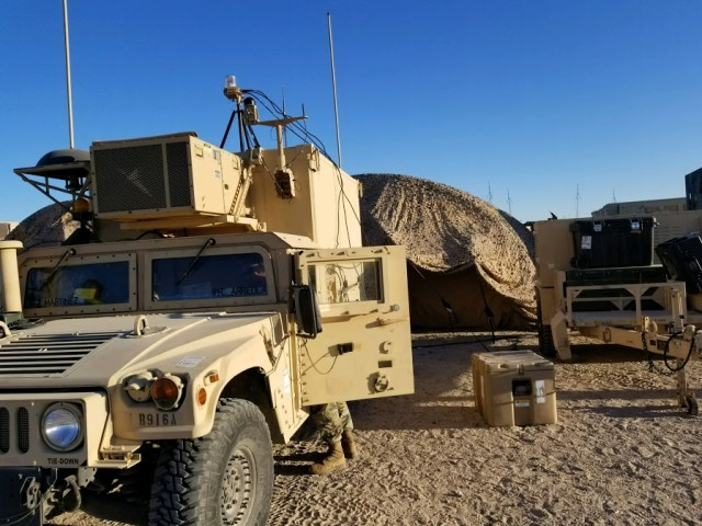 Manning their station at NTC