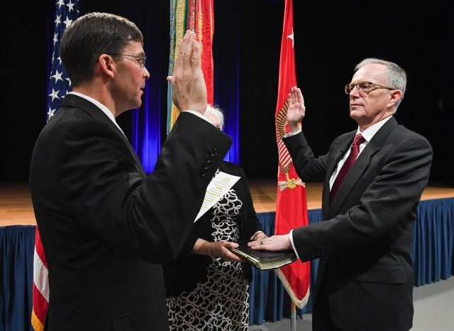 Swearing In Ceremony IHO Honorable Dr. Bruce D. Jette