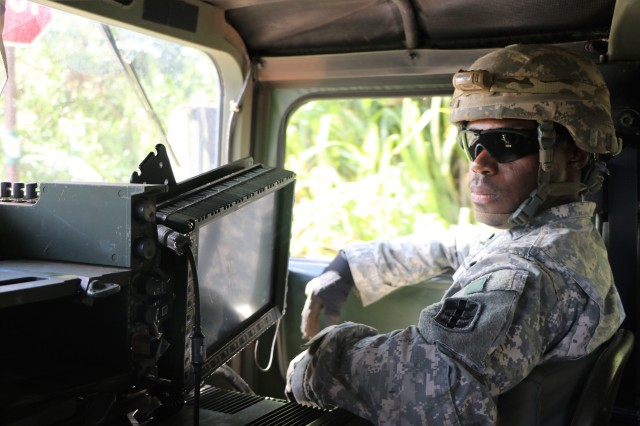 """My greatest achievement is that my Soldiers are capable of executing missions and overcoming diverse challenges in the Pacific.""-SGT Todd Kelly, horizontal construction engineer, 561st Engineer Construction Company, 84th Engineer Battalion, on his greatest achievement as an noncommissioned officer in the Pacific"