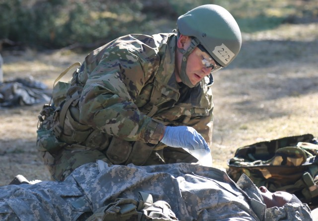 U.S. Army Europe medical professionals test EFMB mettle in harsh conditions