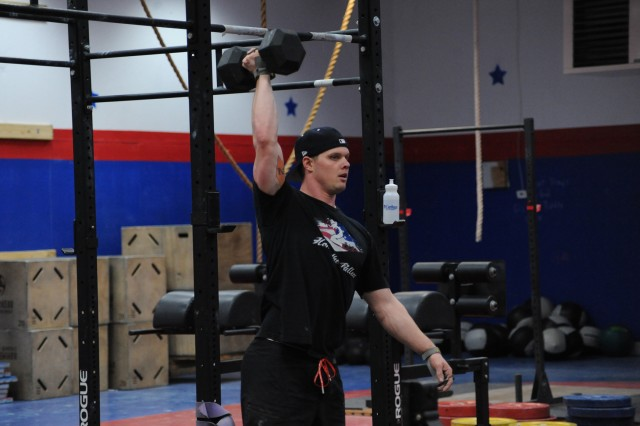 Staff Sgt. Benjamin Holland, Mountain Athlete Warrior (MAW) noncommissioned officer in charge, finds training for the unknown is the most appealing factor in CrossFit.