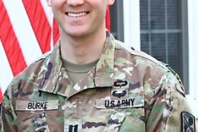 Chaplain (Capt.) James G. Burke, 2nd Battalion, 58th Infantry Regiment