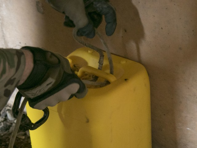 EOD trains for the unexpected