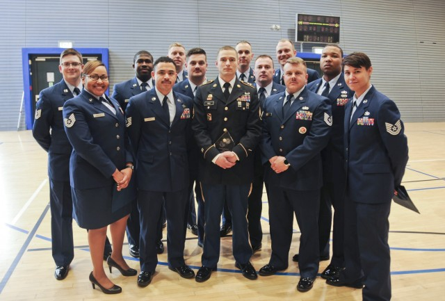 21st Theater Sustainment Command NCO graduates from U.S. Air Force NCO academy