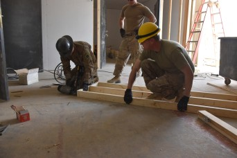 Oklahoma National Guard soldiers gain skills while constructing projects in Iraq