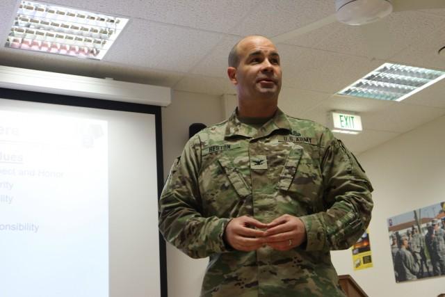 Army Reserve Civil Affairs Leadership in Europe focuses on priorities