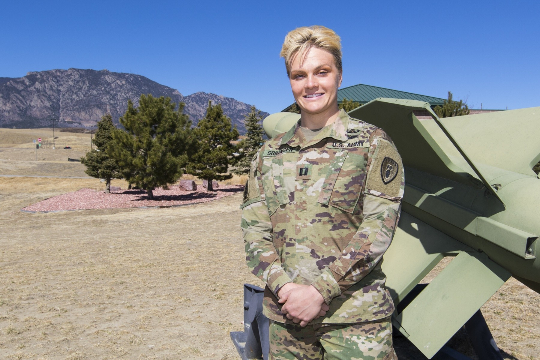 Female EOD officer Capt. Ashley Sorensen: Doing the ...