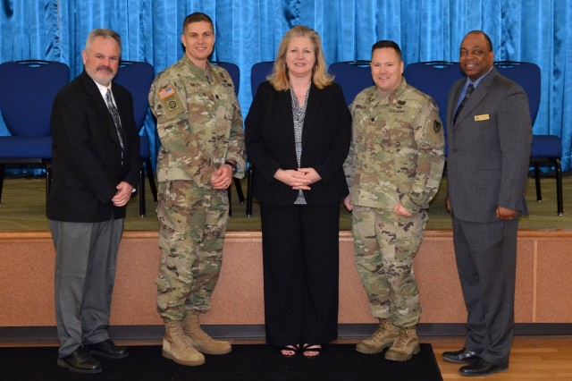 Leaders from throughout the Field Directorate Office-Fort Sam Houston took part in the 2018 Mission and Installation Contracting Command Acquisition Leaders Training Event March 6-8 at Joint Base San Antonio-Fort Sam Houston, Texas.