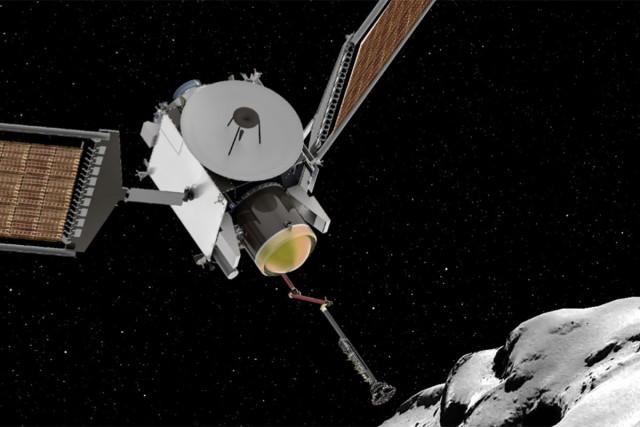 Concept of CAESAR comet sample collector