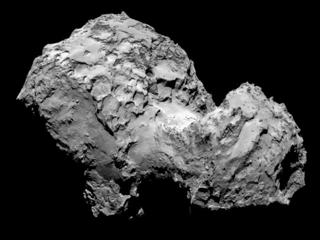 Comet 67P/Churyumov-Gerasimenko: sample target