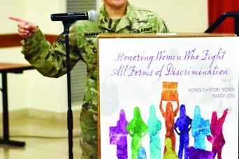 Vicenza community celebrates women's history