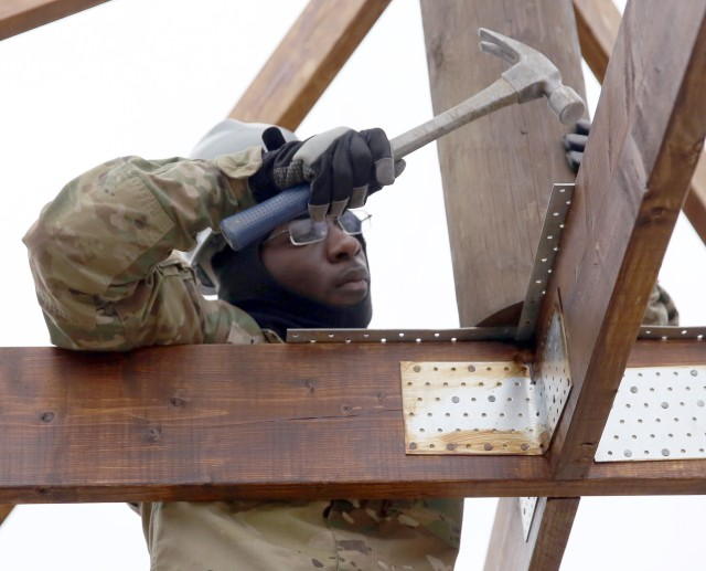 Army National Guard construction in Germany