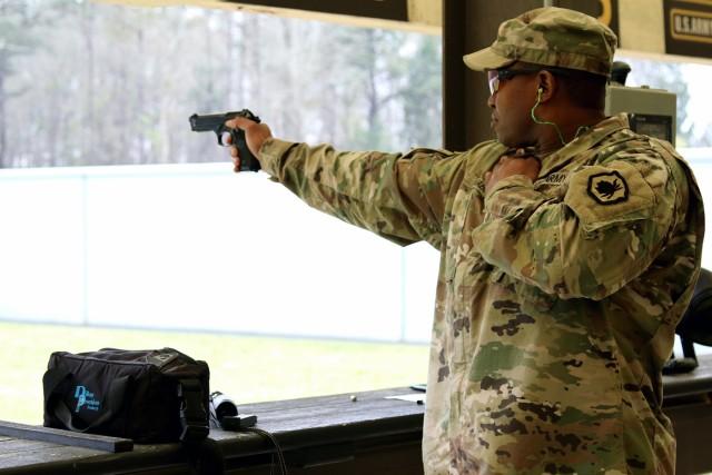Pistol competition brings higher marksmanship skills
