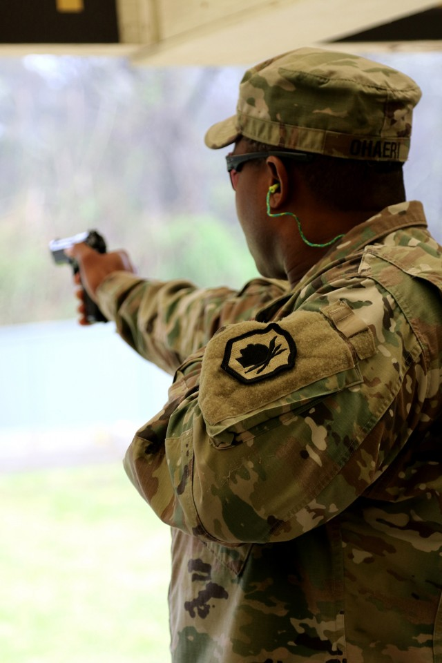 Army Reserve drill sergeant advances skills through competition
