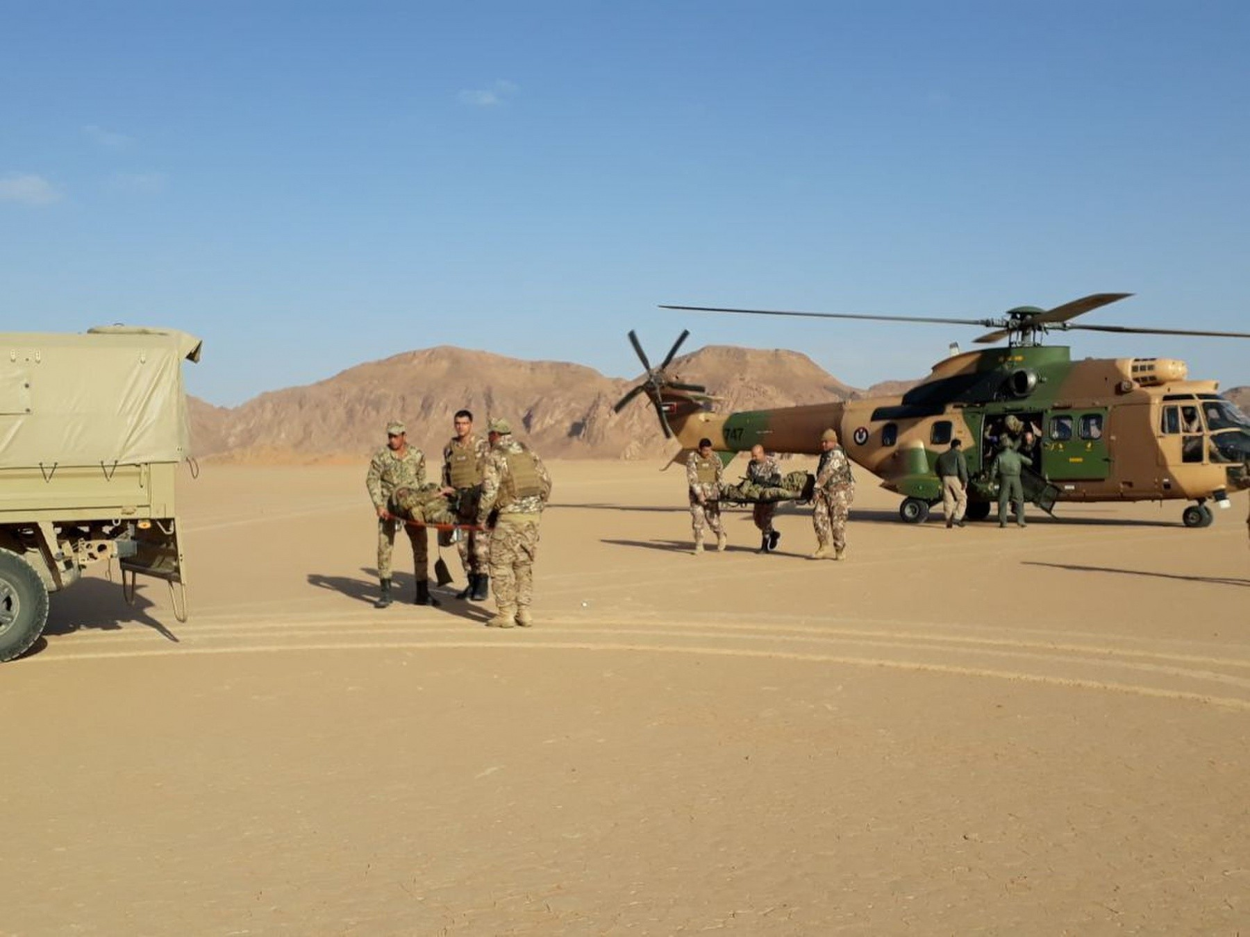 Task Force Spartan aviation brigade exchanges troops with