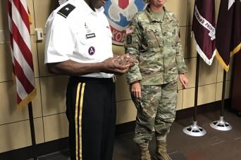 RHC-P chief of staff awarded Army Regent's award