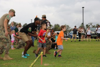 'Little Warriors' train during annual Fun Fest