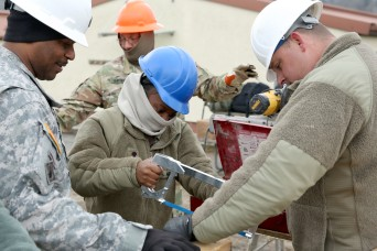 Army National Guard engineers give JMRC a facelift