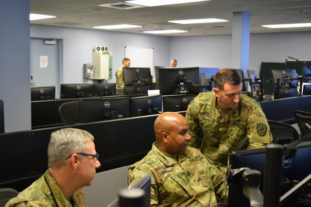 FORT GEORGE G. MEADE, Md. -- The Soldiers of Task Force Echo, an Army National Guard (ARNG) comprised of more than 140 Soldiers from seven states, have completed more 38,000 hours of technical training and supported more than 1,500 U.S. Army Cyber Command and U.S. Cyber Command missions during their year-long mobilization.  Because of their success, the Department of Defense has extended the TFE mission and will transition the current group of ARNG Soldiers with a new team of cyber warriors.