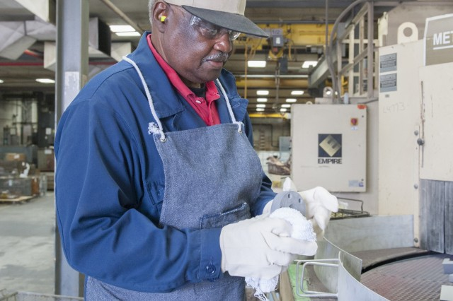 Hand/finger injuries accounted for 28 percent of all incidents and accidents at Anniston Army Depot in fiscal year 2017. Wearing personal protective equipment at the depot often means wearing gloves to protect against hazards.