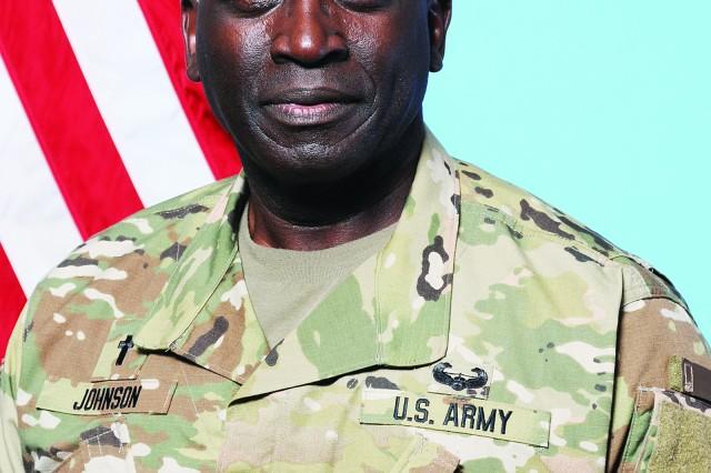 Chaplain (Col.) Milton Johnson, Fort Jackson command chaplain