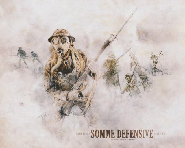 German Spring Offensive of 1918 threatens Paris