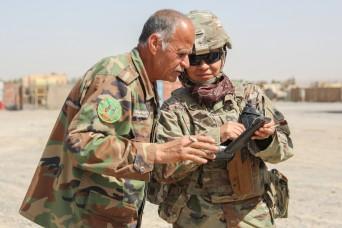 California National Guard Female advisor breaks through barriers