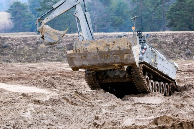 Army tests Robotic Complex Breach Concept with new unmanned technology